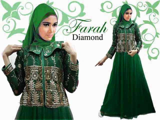 Sarimbit Muslim, Gamis dan Baju Muslim Modern Terbaru 2015