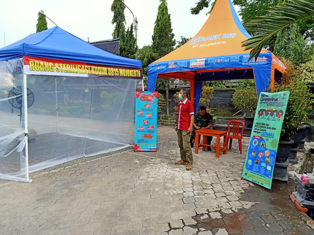 Tenda Sterilisasi Di Makodim 0815/Mojokerto